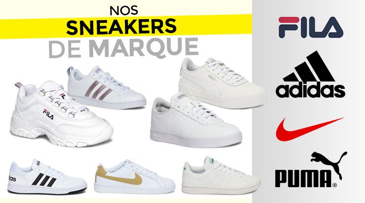Nos sneakers de marque